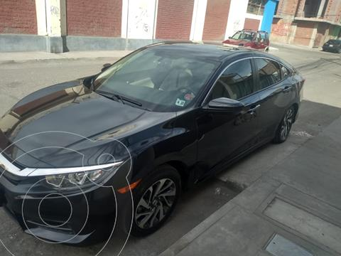 Honda Civic EX 1.8L usado (2018) color Negro precio u$s22,500
