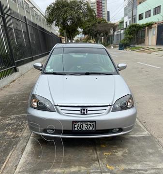 Honda Civic LX 1.6 automatico usado (2001) color Plata precio u$s5,600
