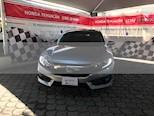 Foto venta Auto usado Honda Civic Turbo Plus Aut (2016) color Plata Diamante precio $275,000