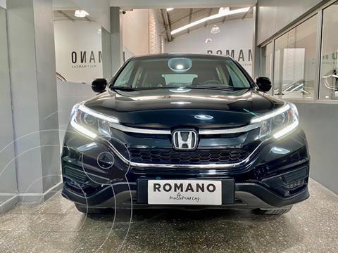 Honda CR-V LX 4x2 usado (2016) color Negro Cristal precio $3.850.000