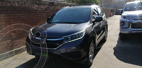 Honda CR-V 2.4L LX 4x2 Aut usado (2017) color Gris Grafito precio $14.990.000