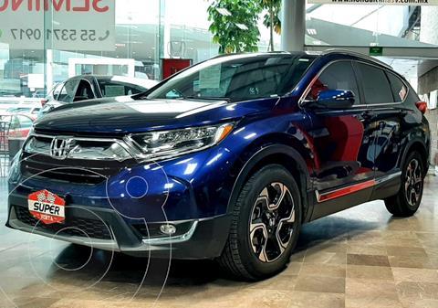 Honda CR-V Touring usado (2019) color Azul Oscuro precio $579,000