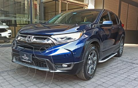 Honda CR-V Turbo Plus usado (2018) color Azul Marino precio $419,000