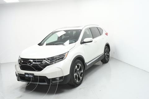 Honda CR-V Touring usado (2018) color Blanco precio $469,000