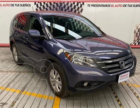 Honda CR-V EX usado (2013) color Azul precio $230,000