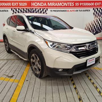 Honda CR-V Turbo Plus usado (2017) color Blanco Marfil financiado en mensualidades(enganche $102,500 mensualidades desde $8,242)