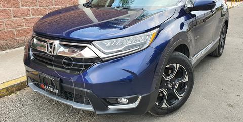 Honda CR-V Touring usado (2018) color Azul precio $420,000