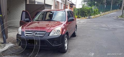 Honda CR-V LX usado (2005) color Rojo precio $105,000