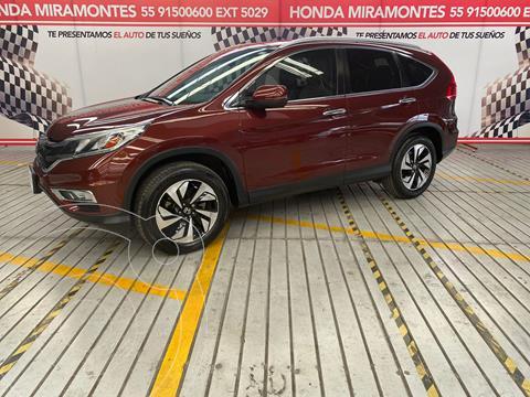 Honda CR-V EXL Navi usado (2016) color Cafe financiado en mensualidades(enganche $92,500 mensualidades desde $8,454)