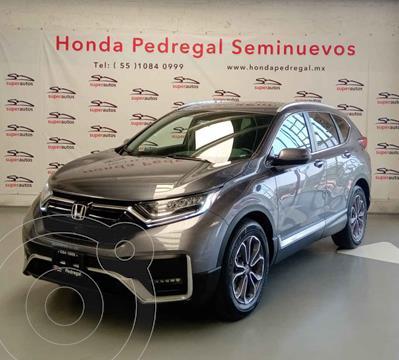 Honda CR-V Touring  usado (2021) color Gris precio $644,900