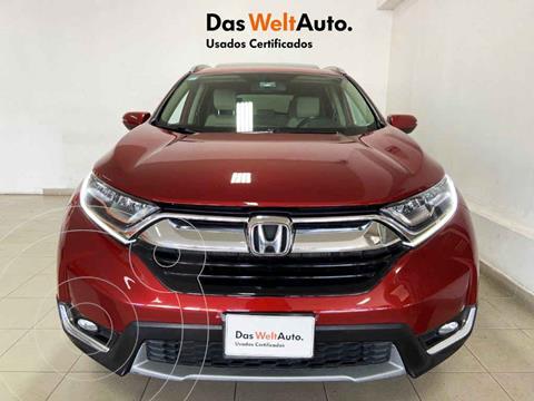 Honda CR-V Touring usado (2018) color Rojo precio $449,995