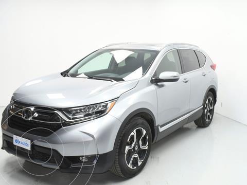 Honda CR-V Touring usado (2018) color Plata Dorado precio $442,500