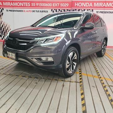 Honda CR-V EXL Navi usado (2015) color Gris financiado en mensualidades(enganche $76,250 mensualidades desde $8,685)