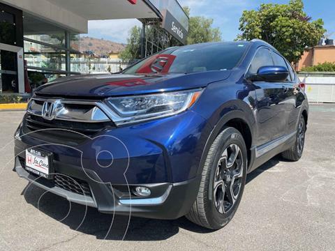 Honda CR-V Touring usado (2019) color Azul precio $465,000