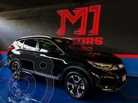 Honda CR-V Touring usado (2018) color Negro precio $438,000