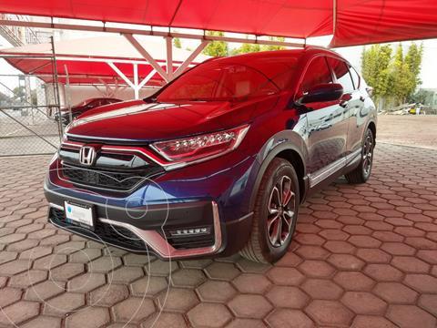 Honda CR-V Touring usado (2020) color Azul Oscuro precio $560,000