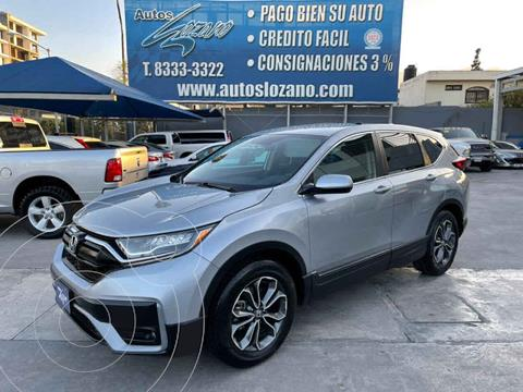 Honda CR-V Turbo Plus usado (2020) color Plata precio $499,900