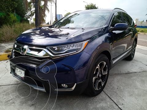 Honda CR-V Touring usado (2018) color Azul precio $485,000