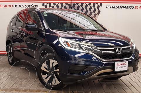 Honda CR-V EXL Navi usado (2016) color Azul Oscuro financiado en mensualidades(enganche $175,000 mensualidades desde $4,999)