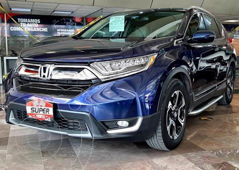 Honda CR-V Touring usado (2017) color Azul Oscuro precio $467,000