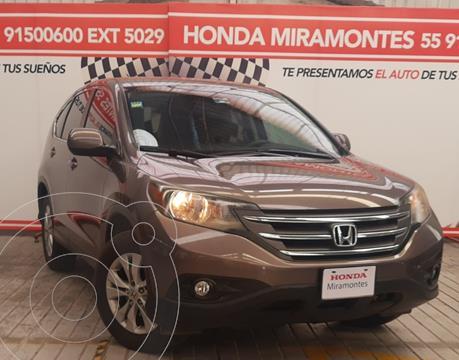 Honda CR-V i-Style usado (2014) color Cafe financiado en mensualidades(enganche $112,000 mensualidades desde $8,484)