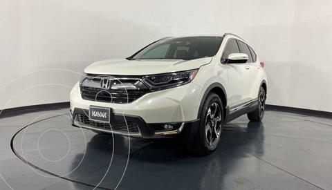 Honda CR-V Touring usado (2017) color Blanco precio $404,999