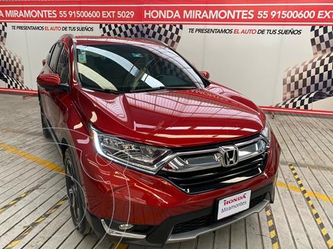 Honda CR-V Touring usado (2019) color Rojo financiado en mensualidades(enganche $125,000 mensualidades desde $10,027)