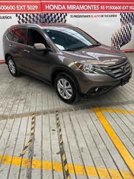 Honda CR-V EXL NAVI usado (2014) color Tungsteno financiado en mensualidades(enganche $137,500 mensualidades desde $6,896)