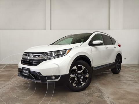 Honda CR-V Touring usado (2019) color Blanco precio $465,000