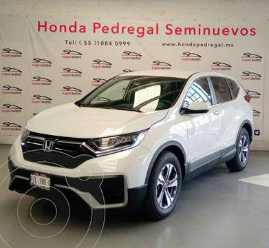 Honda CR-V Turbo  usado (2021) color Blanco precio $529,000