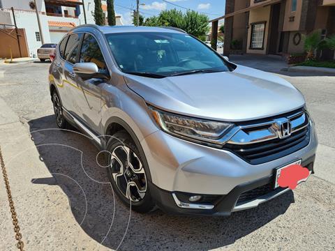 Honda CR-V Touring usado (2017) color Plata Diamante precio $410,000