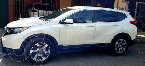 Honda CR-V Turbo Plus usado (2017) color Blanco Platinado precio $399,990