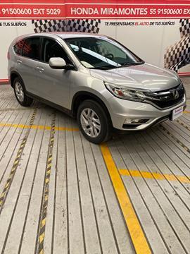 Honda CR-V i-Style usado (2016) color Plata Diamante financiado en mensualidades(enganche $82,500 mensualidades desde $7,668)