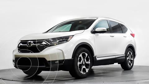 Honda CR-V Touring usado (2017) color Blanco precio $375,000