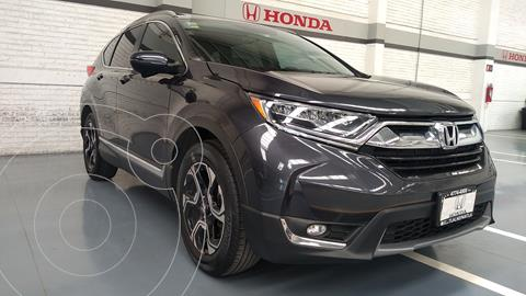 Honda CR-V Touring usado (2017) color Gris Oscuro precio $398,000