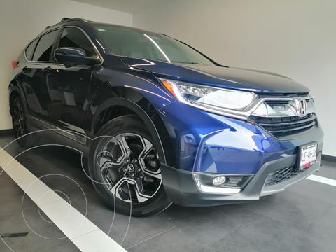 Honda CR-V Touring usado (2019) color Azul precio $475,800