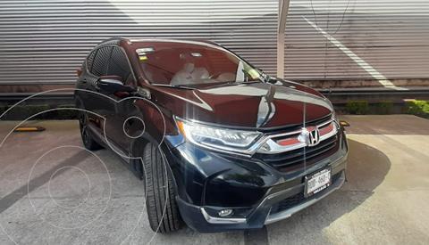 Honda CR-V Touring usado (2018) color Negro precio $450,000