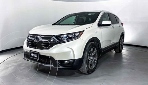 Honda CR-V Turbo Plus usado (2017) color Blanco precio $374,999
