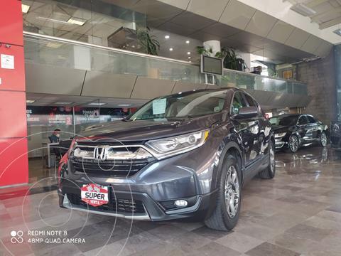 Honda CR-V Turbo Plus usado (2018) color Gris Oscuro precio $450,000