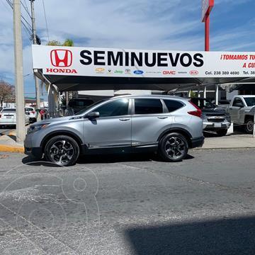 Honda CR-V Touring usado (2019) color Gris precio $489,000