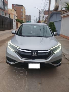 Honda CR-V 2.4L LX usado (2016) color Plata precio u$s16,500