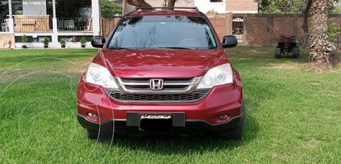 Honda CR-V 4x2 Aut usado (2010) color Rojo precio u$s11,800