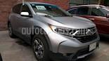 Foto venta Auto usado Honda CR-V Turbo Plus (2017) color Plata precio $389,000