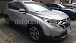 Foto venta Auto usado Honda CR-V Turbo Plus (2017) color Plata precio $393,000