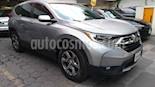 Foto venta Auto usado Honda CR-V Turbo Plus (2018) color Plata precio $419,000