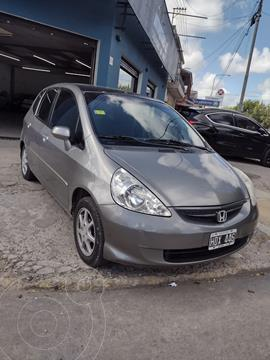 Honda Fit EX Aut usado (2008) color Gris financiado en cuotas(anticipo $650.000)