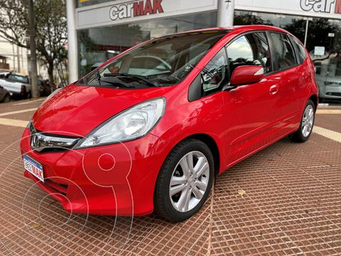 Honda Fit EX  usado (2012) color Rojo precio $1.160.000