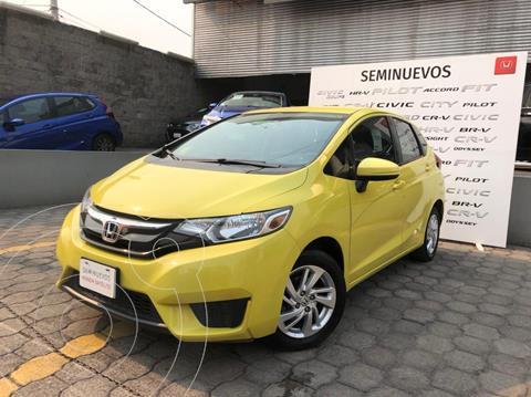 Honda Fit Fun 1.5L usado (2015) color Amarillo precio $155,000