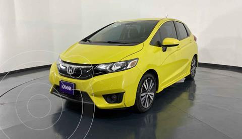 Honda Fit Hit 1.5L Aut usado (2016) color Amarillo precio $192,999
