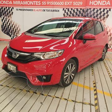 Honda Fit Hit 1.5L Aut usado (2015) color Rojo financiado en mensualidades(enganche $50,000 mensualidades desde $5,750)